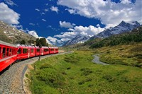 Switzerland,The Glacier Express Zermatt & Klosters